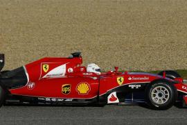Vettel consigue el mejor tiempo en la primera sesión de ensayos en Jerez