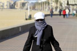 Las temperaturas caerán a partir del miércoles en Balears