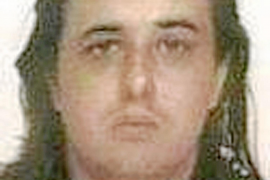 Suspected member of Basque separatist group ETA Fermin Vila Michelena is seen in this handout picture released by Spanish Interi