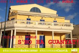 MÉS per Calvià denuncia la «apropiación ilícita» de Sa Societat por parte del Consistorio