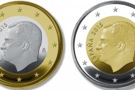 En circulación las monedas de 1 y 2 euros con imagen de Felipe VI