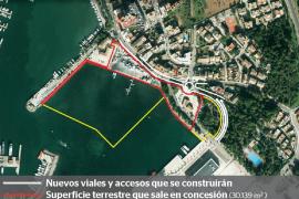 La nueva marina seca de Alcúdia albergará a un mínimo de 70 embarcaciones