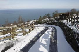 El temporal deja frío y nieve en toda España menos en Extremadura y Canarias