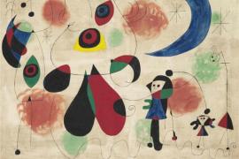 Una obra de Miró alcanza los 20,5 millones de euros en una subasta en Londres
