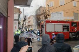Muere un hombre en un incendio en una finca de s'Arenal