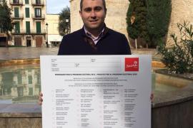 Los socialistas repartirán 11.000 cuestionarios para recoger las inquietudes de los vecinos de Inca