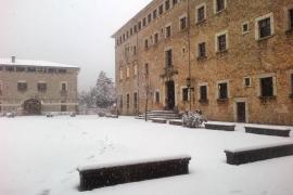 La nevada aumenta para este fin de semana las reservas en el santuario de Lluc