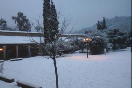 Mallorca está en alerta naranja por nieve y en amarilla por mínimas de -4 grados