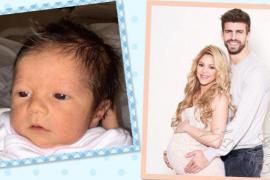 Shakira y Piqué presentan a Sasha, su segundo hijo
