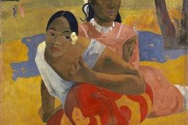 'Nafea Faa Ipoipo', un óleo del Paul Gauguin