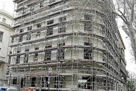 Trabajos de mejora en los edificios más caros de Es Born