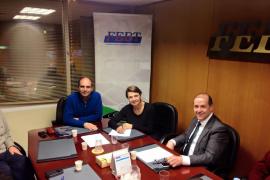 Durán se reúne con entidades de Palma para «escuchar» sus reivindicaciones