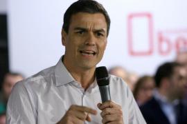 Pedro Sánchez: «Quien empieza a ser historia es el propio Mariano Rajoy»