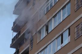Una explosión en un sexto piso de Palma provoca la alarma entre los vecinos