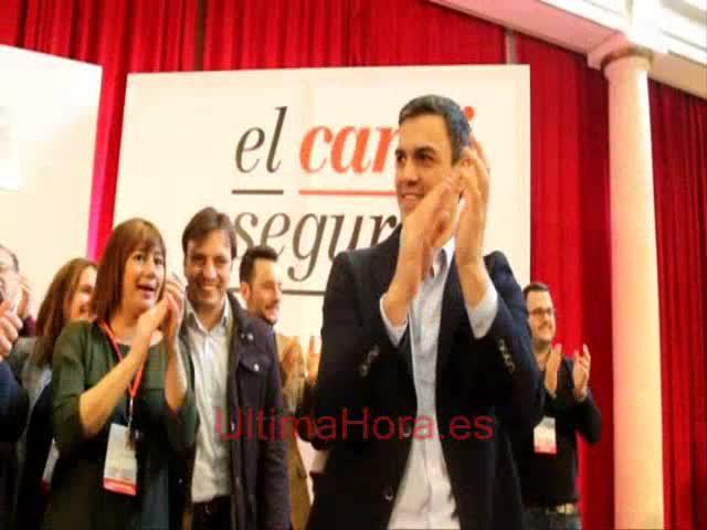 Sánchez dice que España «no soporta más divisiones», ni la del PP ni la de Podemos