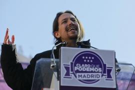 Pablo Iglesias reta a Rajoy a convocar «ya» elecciones generales