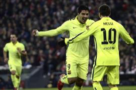La pegada del Barça doblega al Athletic