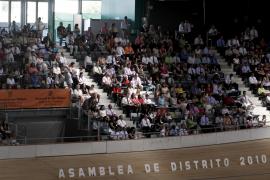 Más de 3.000 testigos de Jehová asisten a la asamblea anual de Balears