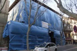Las obras del Casal Balaguer terminarán en agosto y se convertirá en «el nuevo pulmón cultural de Palma»