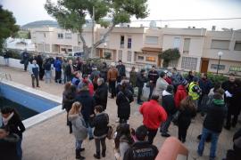 Un conflicto vecinal deja sin luz a un centenar de personas en Santa Ponça