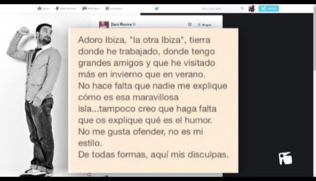 VÍDEO: Reacciones a la broma de Dani Rovira sobre Eivissa en los Goya y sus disculpas