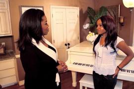 Oprah Winfrey y Bobbi Kristina Brown