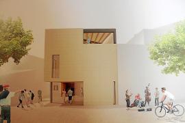 Un edificio de nueva planta, posible ganador en el concurso de la Pescateria de Pollença