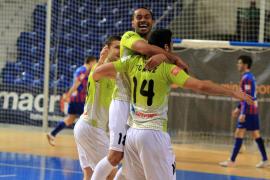 El Palma Futsal vuelve a ganar
