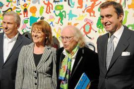 Gustavo inaugura exposición en la RBB de Berlín