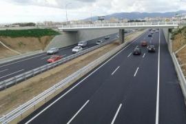 Reabren todos los carriles la autopista de Llevant a la altura del Molinar