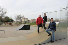 Instalan una nueva pista de 'skate' en Santanyí