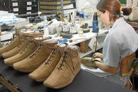 La exportación de calzado balear, a  la baja desde 2010