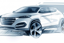Hyundai ha dado a conocer un boceto del nuevo Tucson