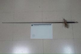 Detenido por atacar con un florete a un policía local de Sineu