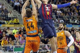 Abrines lidera al Barcelona ante un combativo Valencia Basket