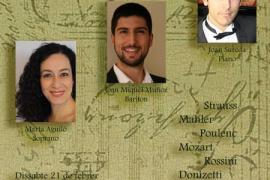 Recital lírico de Marta Aguiló, Joan Miquel Muñoz y Joan Sureda