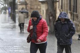 Aemet anuncia un temporal de viento y mar que afectará a Balears