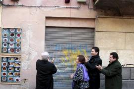 Colocan una placa en la casa natal del obispo Campins en Palma