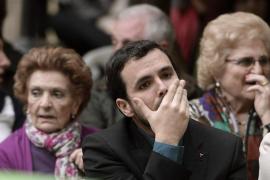 Garzón dice que IU ha estado en circunstancias peores «y ha subido muchísimo»