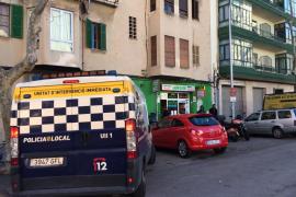 Herido grave un niño  tras caer de cabeza de un primer piso de Palma