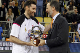 Rudy, MVP de la Copa: «Hemos demostrado el carácter de este equipo»
