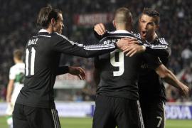El Real Madrid refuerza su liderato en Elche