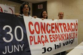 Los sindicatos se manifestarán por separado en Palma contra la reforma laboral