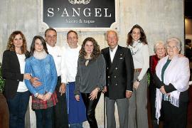 Inauguración del restaurante S'Angel, en Palma
