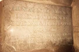 Alternativa per Pollença pide la retirada de la placa con el nombre de Matas en el Calvari