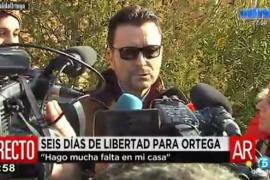 Ortega Cano sale de la cárcel