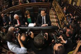 Rajoy saca pecho de haber sacado a España  del «riesgo de quiebra» como se propuso en 2011