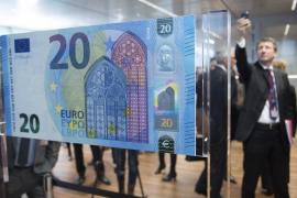 El nuevo billete de 20 euros entrará en circulación el 25 de noviembre
