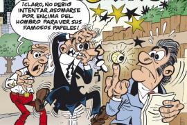 Mortadelo y Filemón perseguirán en su próxima aventura al tesorero del 'Partido Papilar'
