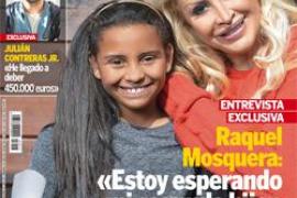 Raquel Mosquera espera su segundo hijo